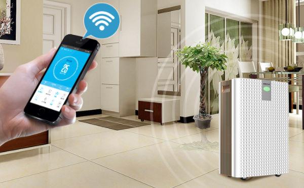 使用家用空气净化器